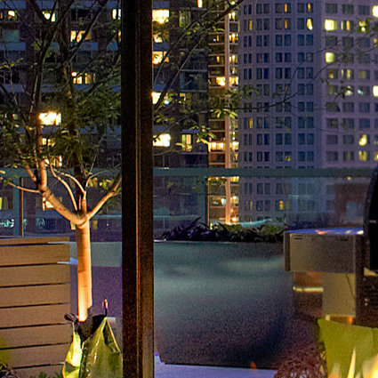 Terrace with Fire Pit