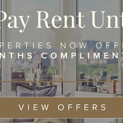 Receive two months complimentary rent
