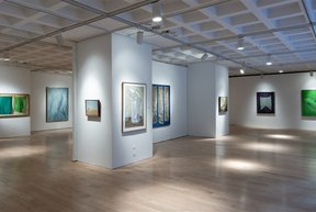 Marlborough Gallery interior
