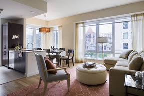Gracious layouts with beautiful hardwood floors