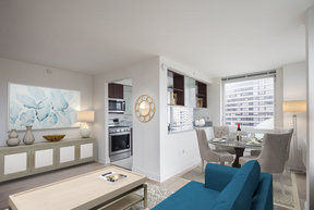 Enjoy One Carnegie Hill's light filled homes with open floor plans.