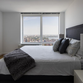 Layouts include plenty of room to breathe, including spacious bedrooms.