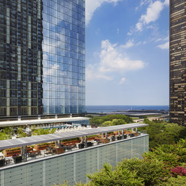 Enjoy astounding lake views from 500 Lake Shore Drive.