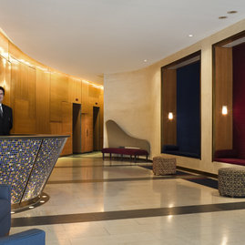Lobby is attended 24 hours a day by our skilled staff.