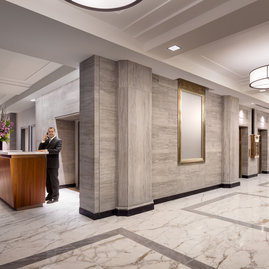 Our lobby staff is on duty 24 hours a day and is committed to the highest level of service.