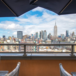 The Sierra impresses with stunning views of Manhattan.