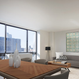 Floor To Ceiling Windows Let Natural Light Pour In