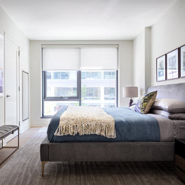 Second bedroom offers ample space and storage