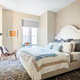 Warm, inviting bedrooms with ample storage