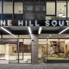 One Hill South's design is by top architect Morris Adjmi.