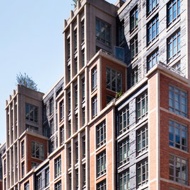 261 Hudson was designed by the acclaimed Robert A.M. Stern Architects.