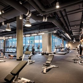 10K offers its residents the only private fitness center by Equinox® in Washington, DC.