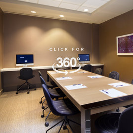 A fully equipped conference room is available for residents' to use for business.