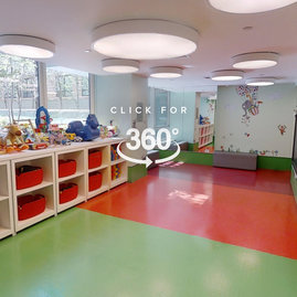 The children's playroom offers dedicated space for your young explorer to be as imaginative (and wiggly) as they like.