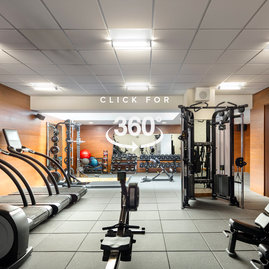 The in-building fitness center includes state-of-the-art equipment for your convenience.