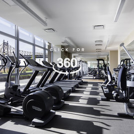 Strength train, run, do yoga, or work out with your personal trainer in this newly designed state-of-the-art fitness center.