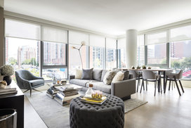 Gracious layouts with floor to ceiling windows