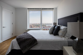 Light filled bedrooms with stunning views