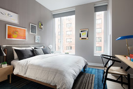 Extra bedrooms provide ample lighting and space.