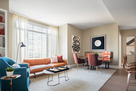 Apartments include custom interiors by Robert A.M. Stern Architects featuring expansive windows designed for maximum light, views, sound attenuation and energy efficiency.