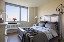 Second bedrooms allows for ample space and storage.