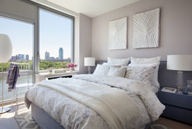 Bathe your custom designed apartment in natural light with floor-to-ceiling windows.