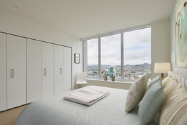 Expansive double-paned windows for maximum light, views, sound attenuation and energy efficiency.