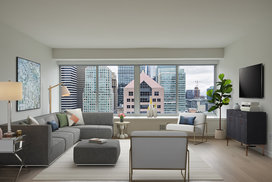 Enjoy city views from the comfort of home.