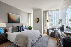 Warm, inviting bedrooms with ample light and storage