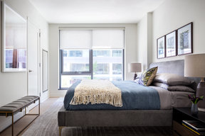 One Hill South offers gracious, light-filled bedrooms
