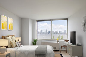 Light filled living with stunning views.