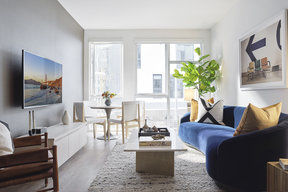 Great rooms include Nest thermostats with AC/heating along with floor-to-ceiling windows that maximize natural light.